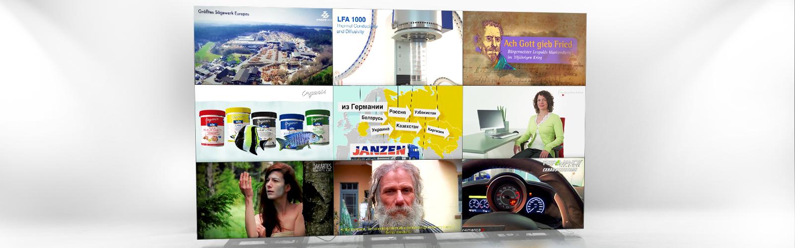 Imagefilm Video Produktvideo Werbevideo Film Tourismusvideo Messefilm